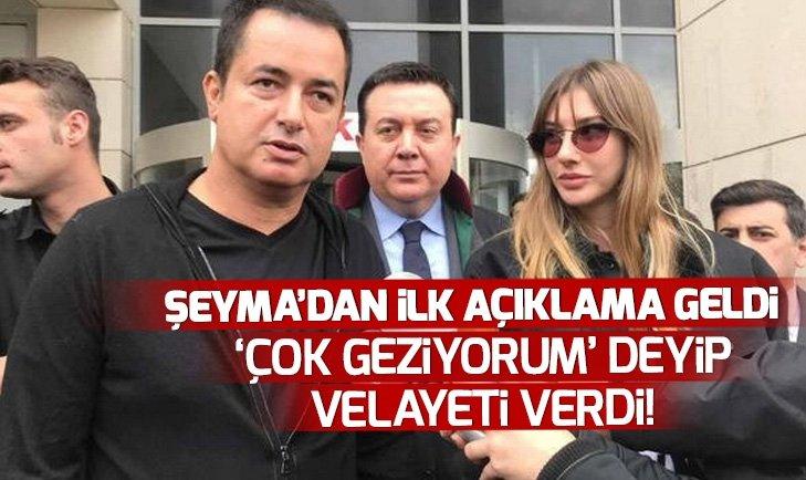 ŞEYMA SUBAŞI'NIN KIZININ VELAYETİ ARTIK BABASINDA