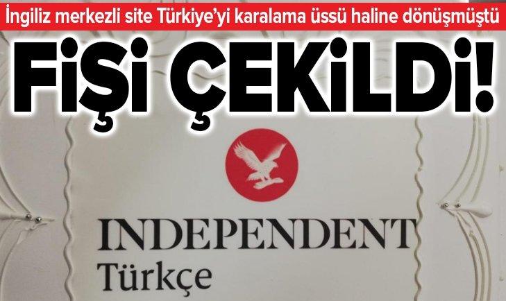 İngiliz merkezli Independent Türkçe kapatıldı!