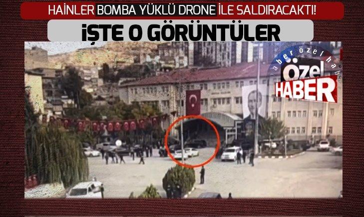 ŞIRNAK'TA DRONE İLE SALDIRI GİRİŞİMİ SON ANDA ÖNLENDİ!