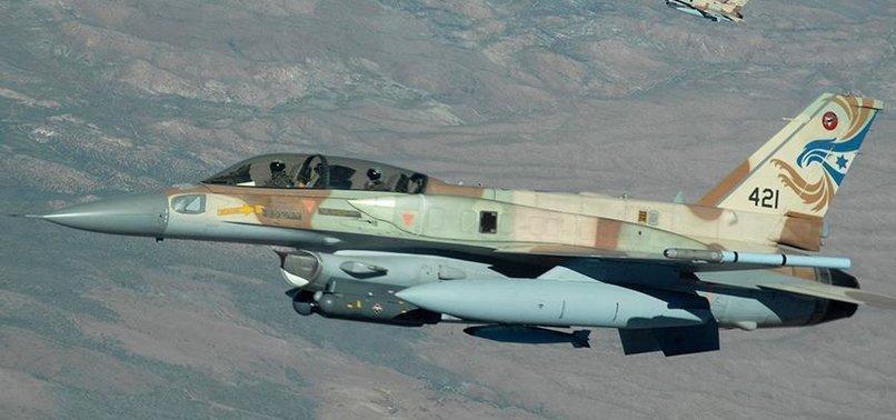 İsrail savaş uçakları Gazze'yi hedef aldı