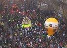 Fransa'da hayat durdu! Fransa tarihinin en büyük grevi