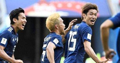 Japonya Kolombiya'yı 2-1 mağlup etti