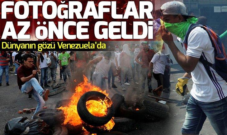 VENEZUELA'DA NELER OLUYOR? TANSİYON GİDEREK YÜKSELİYOR