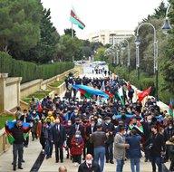 Azerbaycan halkı Kelbecerin Ermenistan işgalinden kurtarılmasını kutluyor