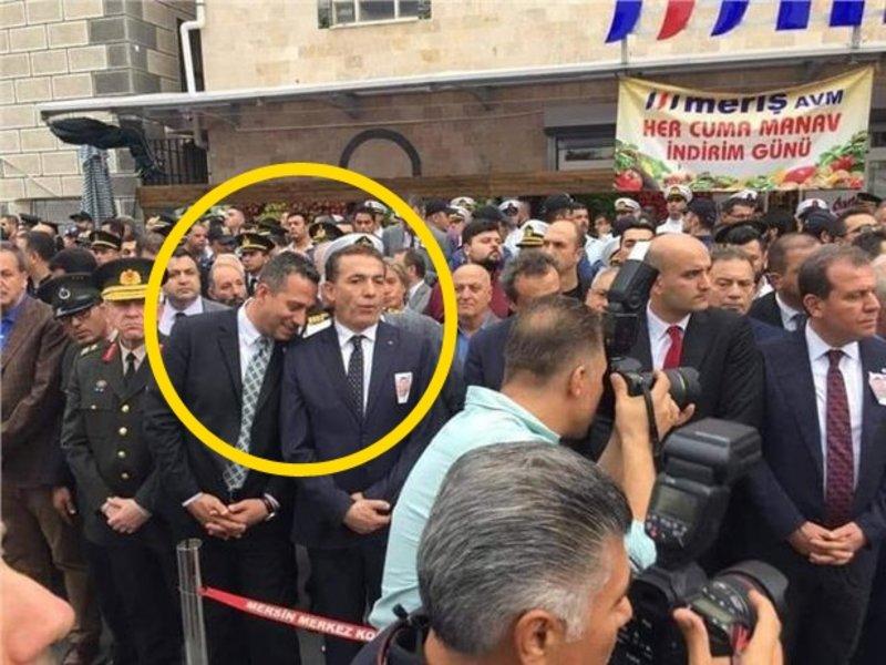 Şehit Mustafa Korkmaz'ın cenazesinde CHP'li vekil Ali Mahir Başarır'dan skandal görüntü