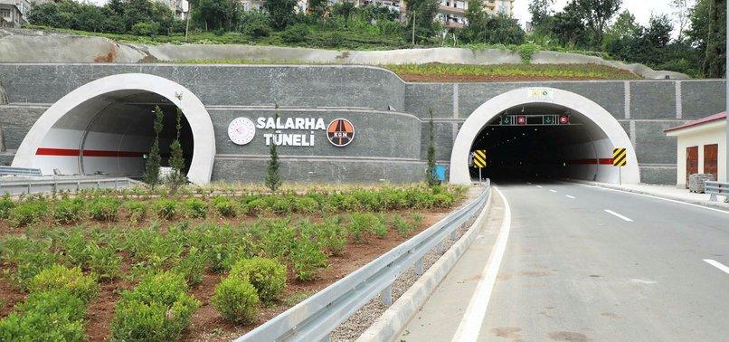 Yakıt ve zamandan tasarruf sağlayacaklar! 30 dakikalık yol Salarha Tüneli ile 5 dakikaya inecek
