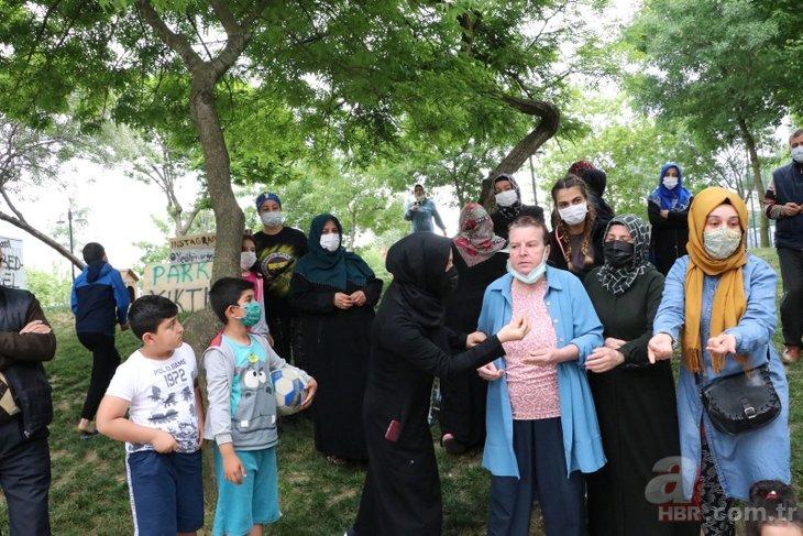 CHP'li İBB'nin skandal projesine çocuklar da tepki gösterdi: Oyuncağımı veririm parkımı vermem