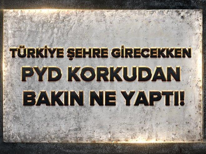 PYD VE ESAD TÜRKİYE'YE KARŞI HAZIRLIK YAPIYOR