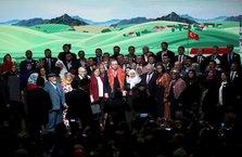 Cumhurbaşkanı'nın çiftçilerle buluşmasından kareler
