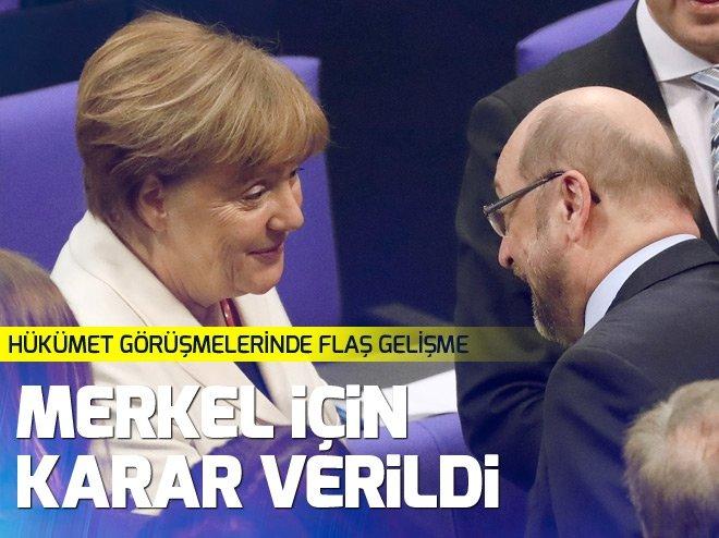 Almanya'da 4. kez Merkel dönemi