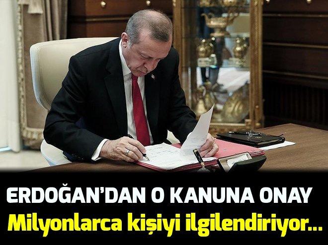 Cumhurbaşkanı Erdoğan'dan yeni 20 üniversite için onay