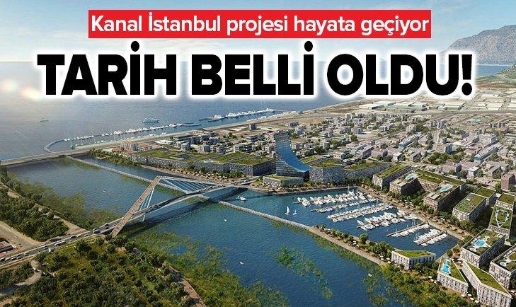 KANAL İSTANBUL İLE İLGİLİ ÖNEMLİ GELİŞME!