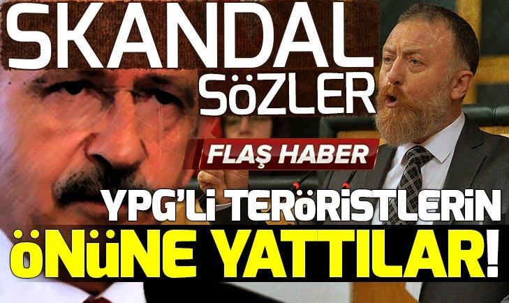 CHP VE HDP TERÖR TEMELİNDE BULUŞTU! SKANDAL SÖZLER