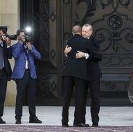 Başkan Erdoğan'a Azerbaycan'da samimi karşılama