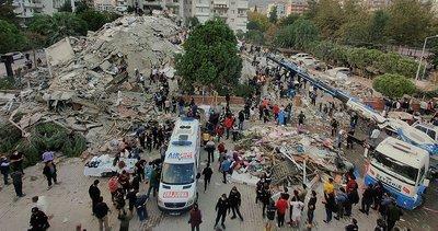 İzmir'deki deprem bölgesinde 3 bin 52 personel görevde
