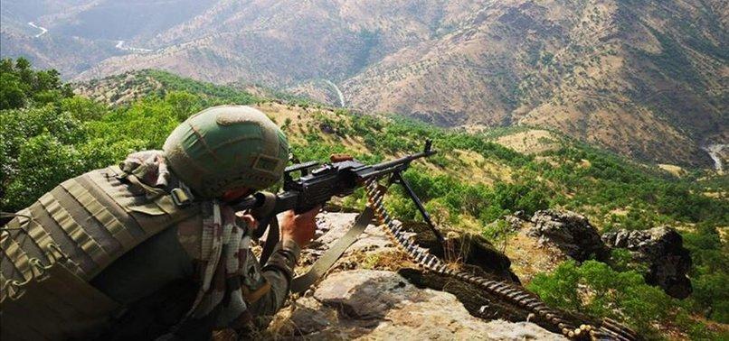 SON OPERASYONLARIN ARDINDAN PKK'DAN KAÇAN KAÇANA