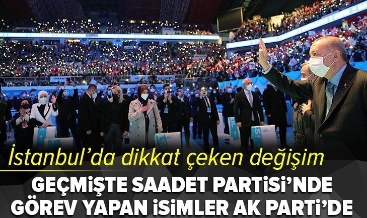 AK Parti İstanbul'da dikkat çeken değişim