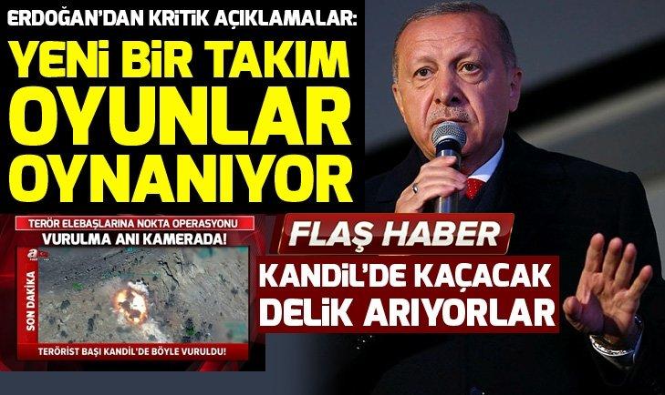 Başkan Erdoğan: Döviz kuru üzerinden yeni bir takım oyunlar oynanıyor