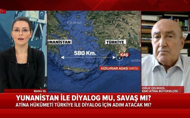 Yunanistan ve Türkiye savaşır mı? Eski diplomattan A Haber canlı yayınında flaş sözler - AHaber Son Dakika Video İzle