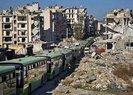 Halep'te tahliye konvoyuna saldırı
