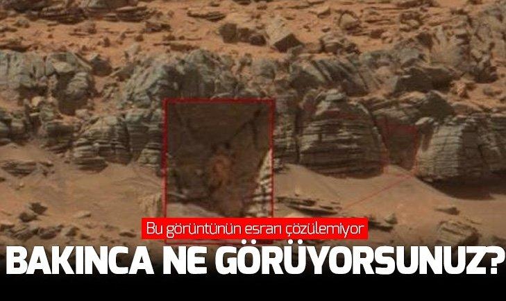 MARS'TAKİ BU GÖRÜNTÜNÜN ESRARI YILLARDIR ÇÖZÜLEMİYOR
