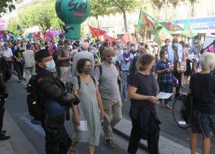 Emekli maaşlarındaki kesinti Fransızları sokaklara döktü