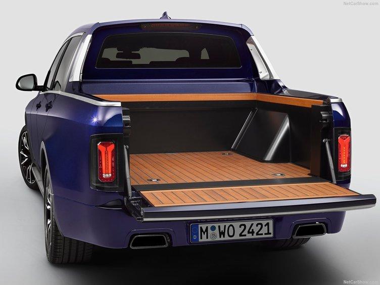 BMW'DAN X7 PİCK-UP