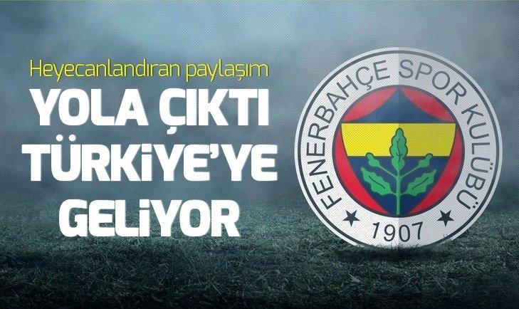 TARAFTARI HEYECANLANDIRAN PAYLAŞIM! TÜRKİYE'YE GELİYOR...
