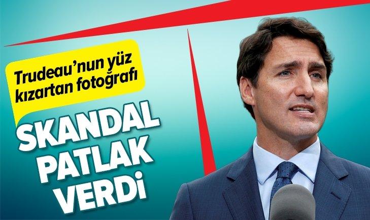 JUSTİN TRUDEAU'NUN YÜZ KIZARTAN FOTOĞRAF