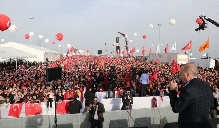 Başkan Erdoğan kurdeleyi kesip otomobille yolu test etti! Kuzey Marmara Otoyolu Kınalı-Odayeri Kesimi açıldı...