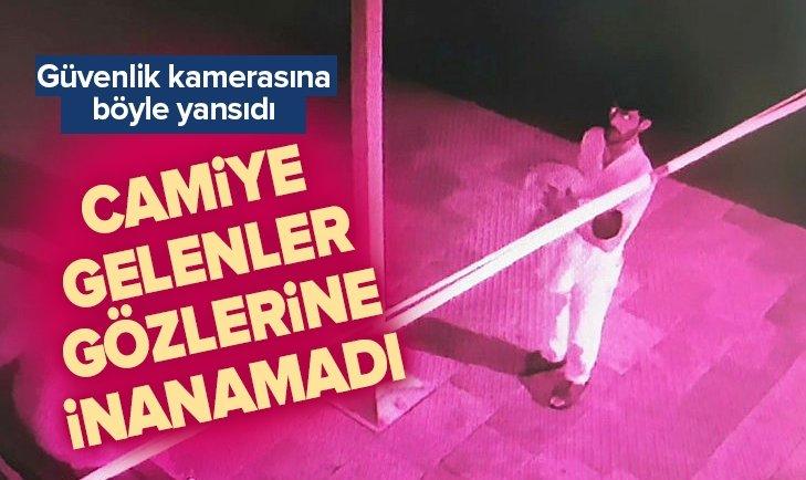 2 AYLIK BEBEĞİ SEVİP CAMİ AVLUSUNA BIRAKTILAR!