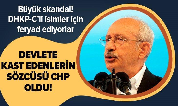 CHP devlete kast edenler için feryad ediyor!