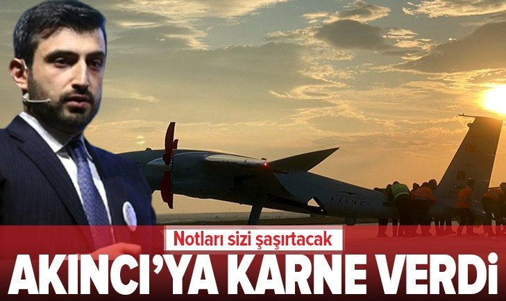 SELÇUK BAYRAKTAR, AKINCI'YA KARNE VERDİ!