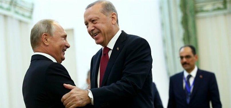 Putin'den Başkan Erdoğan'a övgü dolu sözler: Erdoğan baskılara rağmen bağımsız bir dış politika izliyor