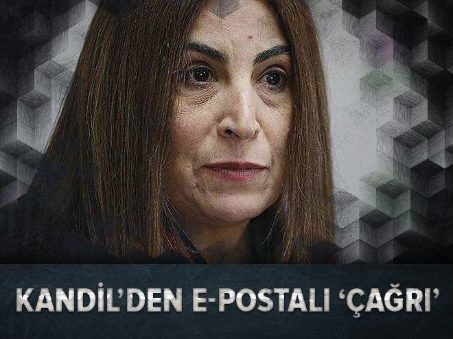KANDİL'DEN E-POSTALI 'ÇAĞRI'