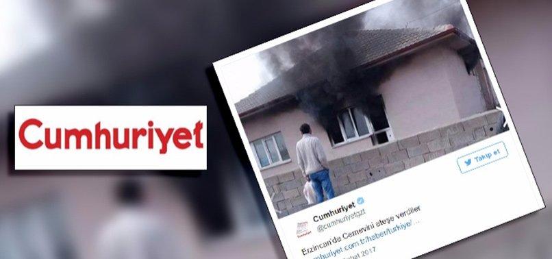 CUMHURİYET'TEN ÇİRKİN ALGI OPERASYONU