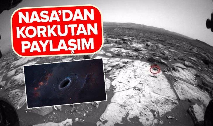 NASA KAN DONDURAN GÖRÜNTÜLERİ YAYINLADI