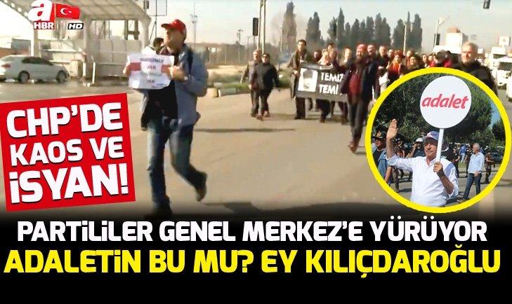 CHP MALTEPE İLÇE TEŞKİLATI'NDAN GENEL MERKEZE TEPKİ!