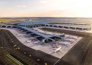 Son dakika: İstanbul Havalimanı'nda uçuşlar için tüm önlemler alındı
