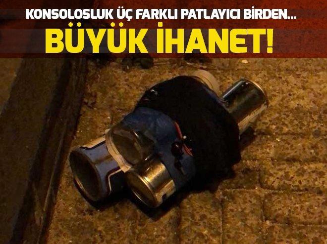 TÜRKİYE'NİN AMSTERDAM BAŞKONSOLOSLUĞUNA SALDIRI