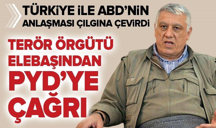 ANLAŞMA PKK'YI ÇILDIRTTI! CEMİL BAYIK'TAN YPG'YE ÇAĞRI