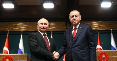 Son dakika: Başkan Erdoğan, Putin ile görüştü