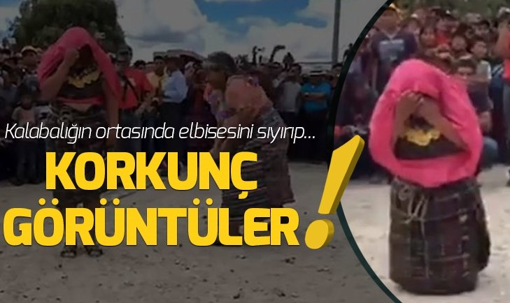 FUTBOL SAHASINDA KORKUNÇ GÖRÜNTÜLER!