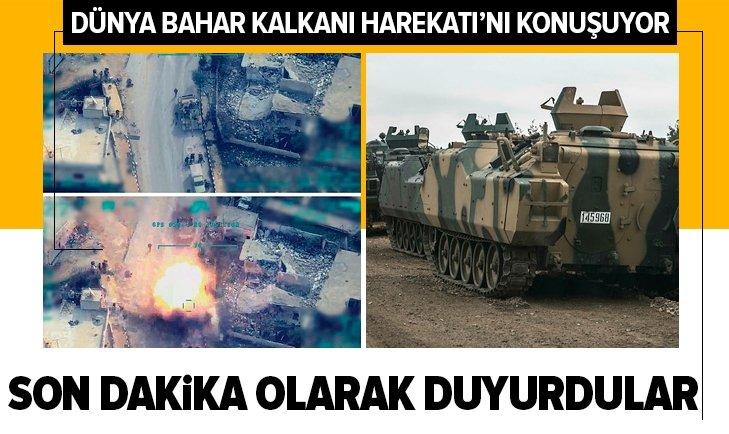 Dünya Türkiye'yi konuşuyor! Bahar Kalkanı Harekatı...