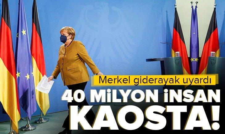 Almanya Şansölyesi Merkel'den giderayak Afganistan uyarısı