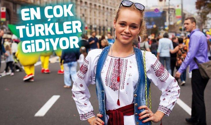 UKRAYNA'YA ÇALIŞMAK İÇİN EN ÇOK TÜRKLER GİDİYOR