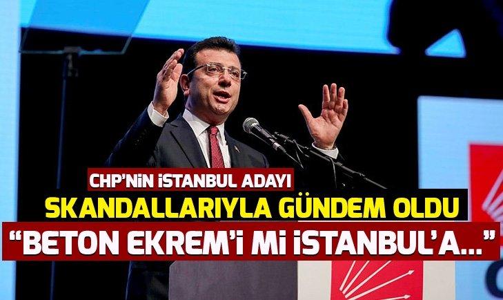 Ekrem İmamoğlu TBMM'de tartışma konusu oldu! Beton Ekrem'i mi İstanbul'a layık gördünüz?