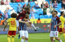 Trabzon'da 5 gollü maç