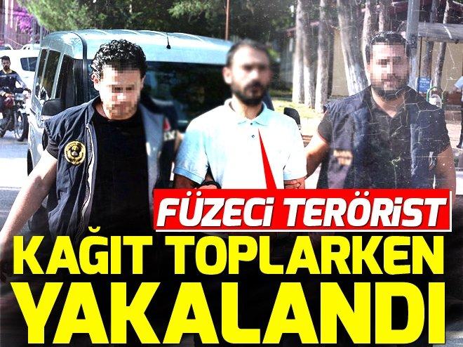 DEAŞ'ın füzecisi Adana'da atık kağıt toplarken yakalandı