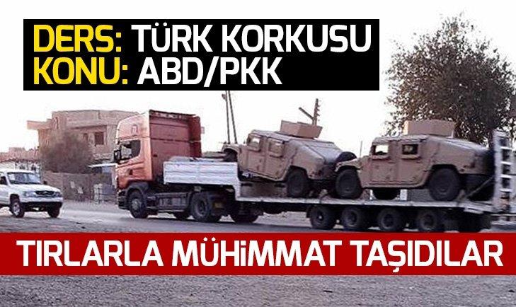 TÜRKİYE KORKUSU PKK'YA SİLAH GÖNDERTTİ